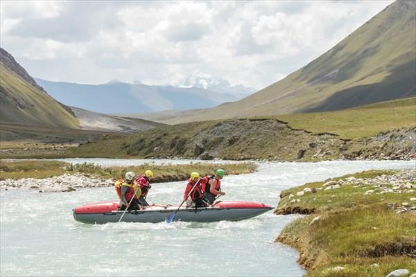 Река Джилису , первая тренировка